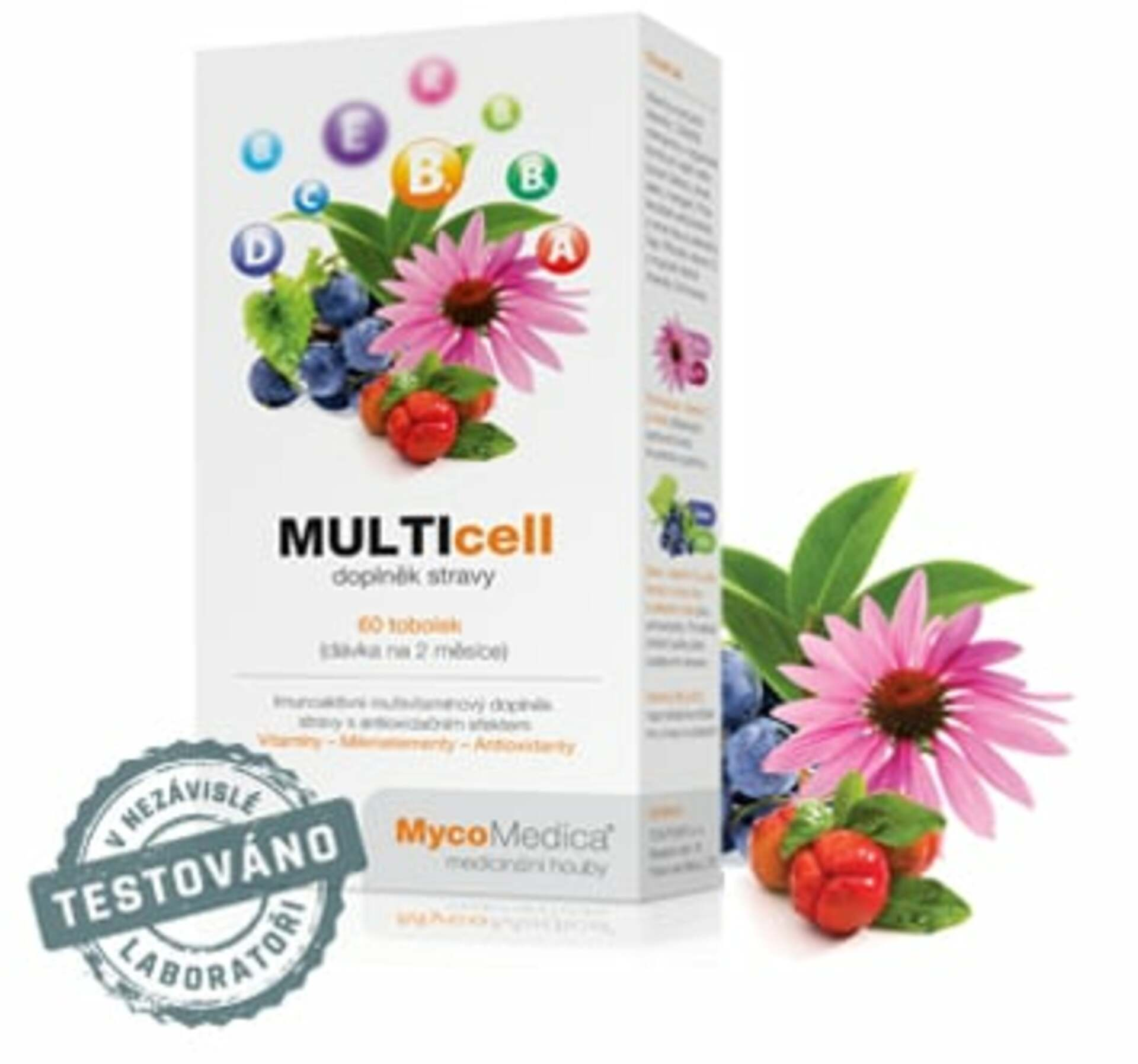 MycoMedica Multicell 60 tabletek