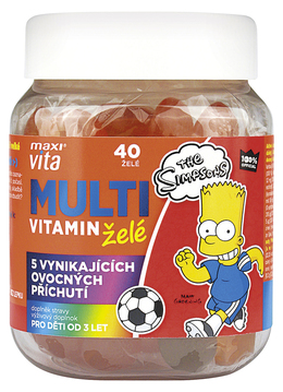 The Simpsons Multivitamin Jelly 40 szt