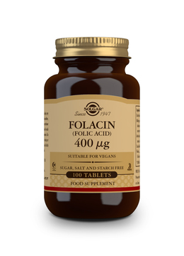 Solgar Folic acid 400 µg 100 tabletek