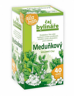 Apotheke Herbal Tea Lemon balm 40 saszetek