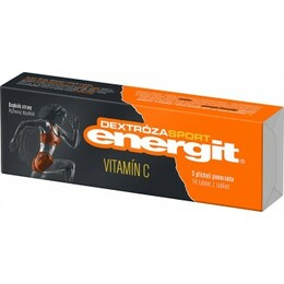 Energit Dextrose Vitamin C orange 14 tabletek
