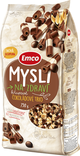 Emco Crunchy Thoughts - Chocolate Trio 750 g