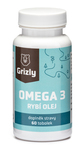GRIZLY Omega 3 Fish Oil Forte 60 tabletek